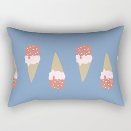 I Scream for Ice Cream Rectangular Pillow