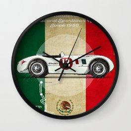 Panamericana Vintage C-Type Wall Clock