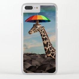 Stand Out From the Crowd Clear iPhone Case