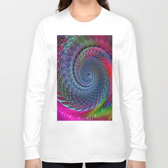 Time was (when there were things around to be afraid of) Long Sleeve T-shirt