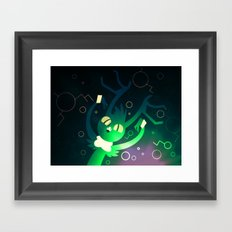 Click A Tick  Framed Art Print
