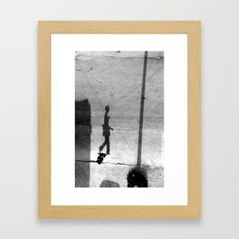 Transition into another dimension IV Framed Art Print