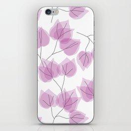 BOUGAINVILLEA iPhone Skin