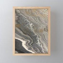 cozy marble Framed Mini Art Print