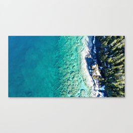 Blues from Above Canvas Print