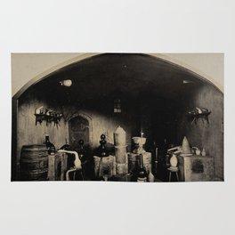 Alchemical Laboratory 1904 World's Fair, St. Louis Rug
