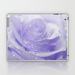 Rose with Drops 085 Laptop & iPad Skin