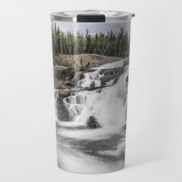 Rushing Waterfall Travel Mug