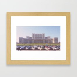 Romania's Pictures Framed Art Print