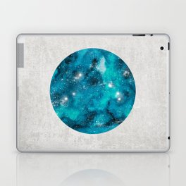 Aries zodiac constellation on the light background Laptop & iPad Skin
