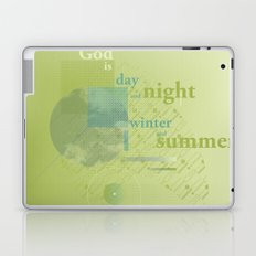God is #everyweek 5.2017 Laptop & iPad Skin
