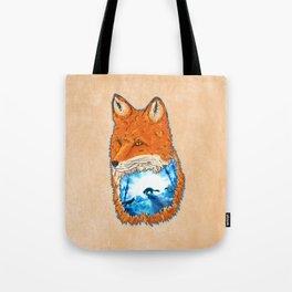 Untamed Winter Tote Bag