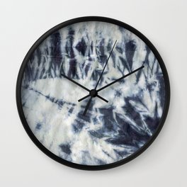 Shibori #3 Wall Clock