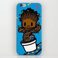 groot iPhone & iPod Skins featuring groot groot groot.... by Ziqi