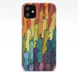 rainbow power iPhone Case