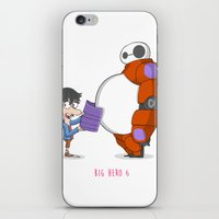 big hero 6 iPhone & iPod Skins featuring 21 - BIG HERO 6 by Jomp