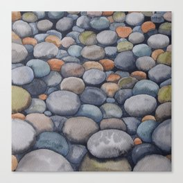 Watercolour relaxation Canvas Print