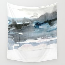dissolving blues 2 Wall Tapestry