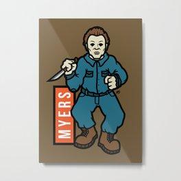 Michael Meyers Metal Print