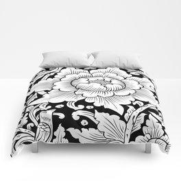 Thai Art Flower 01 Comforters