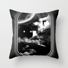 Intruder Throw Pillow
