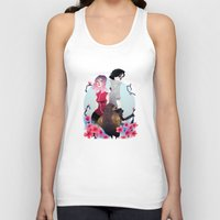 gore Tank Tops featuring Glory and Gore go hand and hand by Serena Rocca