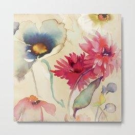 Kelly Parr - Floral Fireworks II Metal Print