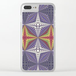 Wart Mandala Clear iPhone Case