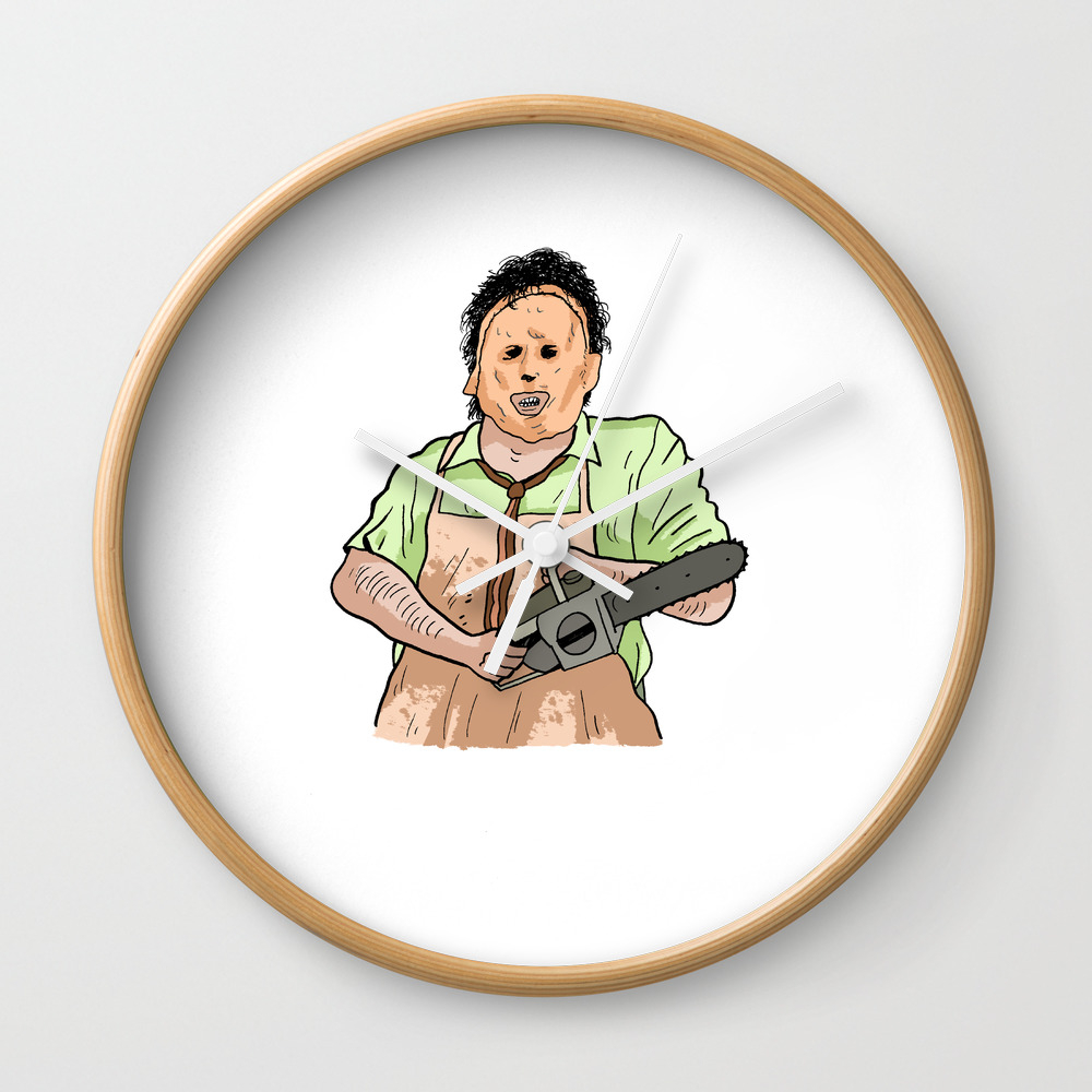 Leatherface (the Texas Chainsaw Massacre 1974) Wall Clock by Miguelbnunez CLK7937138