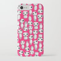 kodama iPhone & iPod Cases featuring Kodama  by pkarnold + The Cult Print Shop