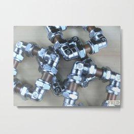 Copper and Chrome Smart Art - FredPereiraStudios.com_Page_03 Metal Print