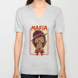 Monkey Mafia Unisex V-Neck
