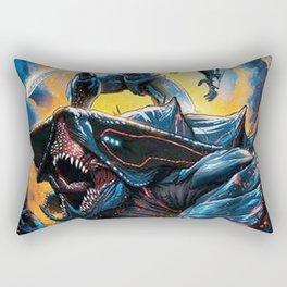 Pacific Rim Uprising 2018 And Monster Rectangular Pillow