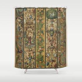 Renaissance Ornament Shower Curtain