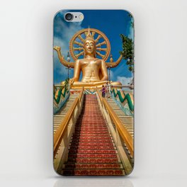 Lord Buddha iPhone Skin