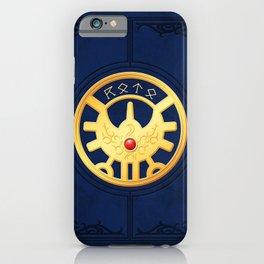Erdrick's Seal (Vertical) iPhone Case