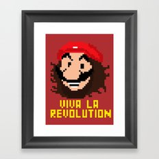 viva la revolution Framed Art Print