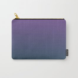 Purple and teal ombre Carry-All Pouch