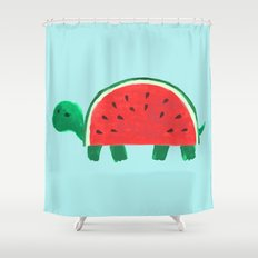 Slow Day Shower Curtain
