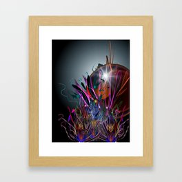 And So We Rise Framed Art Print