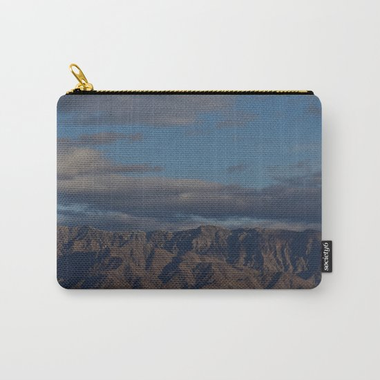 Virgin Mountains in February Carry-All Pouch