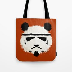 Panda Trooper Tote Bag