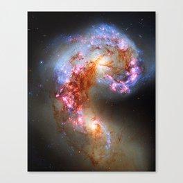 Antennae Galaxies Canvas Print