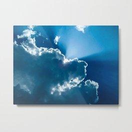 Shining Through the Heavens IV Metal Print