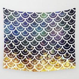 Mermaid Scales Deep Sea Sparkle Wall Tapestry