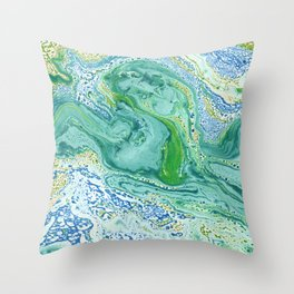 Abstraction #7 Throw Pillow