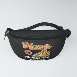 Pizza Design For Pizza Bags And Pizza Lovers Fanny Pack