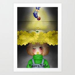 FearsTale Poster Art Print