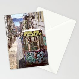 Graffiti Cable Car Stationery Cards