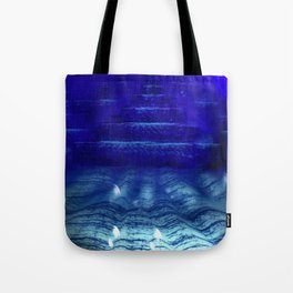 Underwater Pyramids Tote Bag